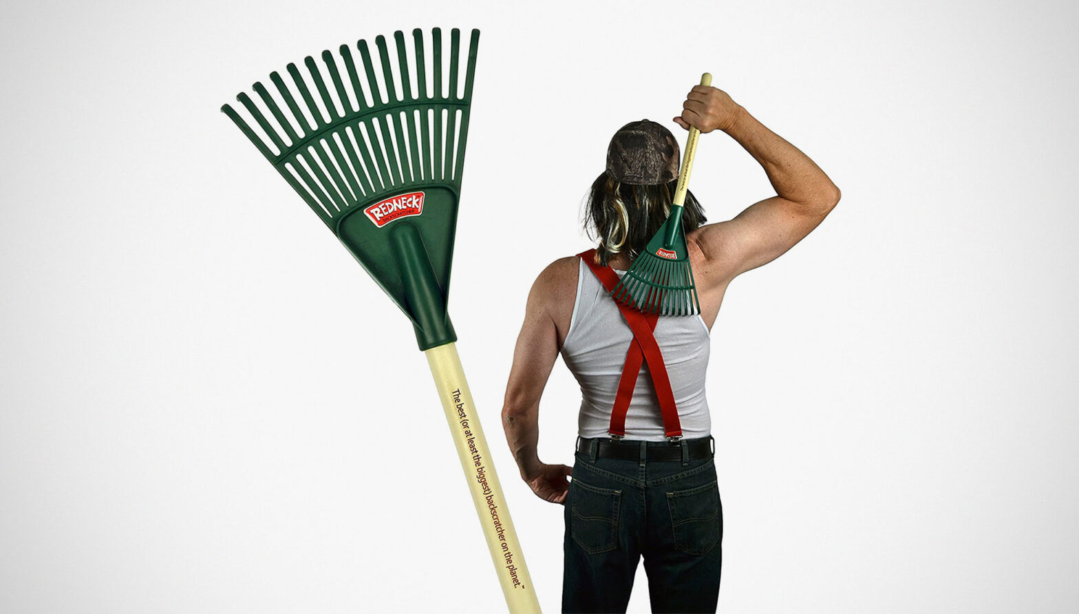 Redneck Backscratcher Garden Rake Backscratcher