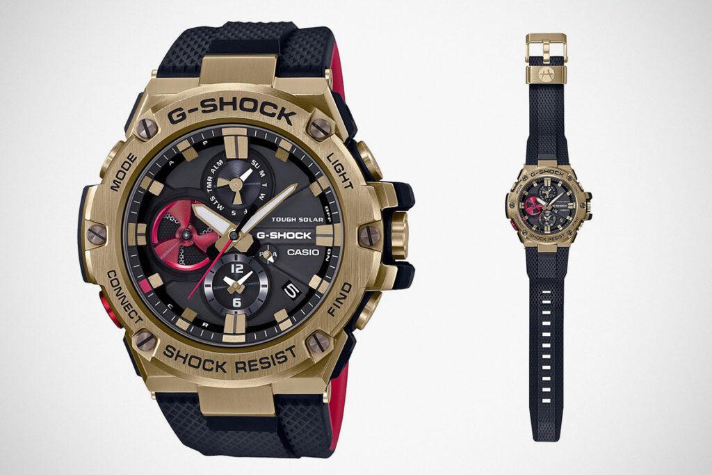 Rui Hachimura x G-Shock GST-B100RH Watch