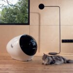 Space Age-looking Cat Litter Will Automatically Re-order Litter So You Don't Have To