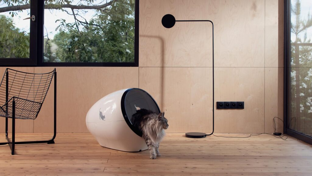 Space Kotty Smart Litter Box