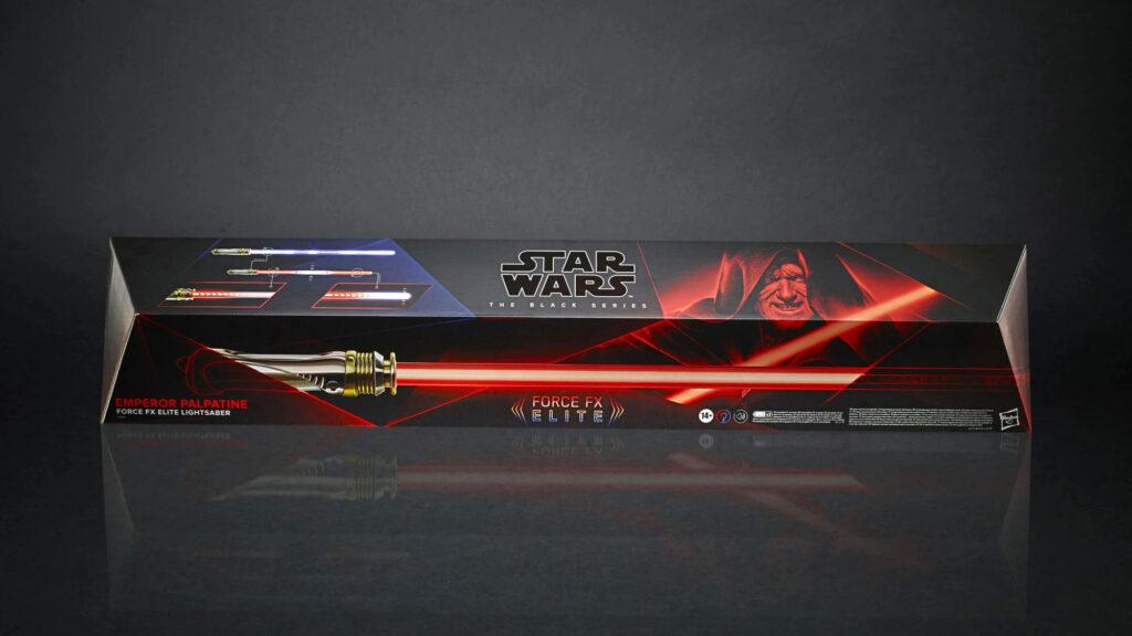 Star Wars The Black Series Emperor Palpatine Force FX Elite Lightsaber