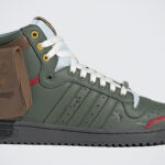 If Boba Fett Wore Sneakers, It Will Probably Be The Boba Fett-themed adidas Top Ten Hi