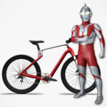 World's First Unibody CF Composite Bike Is Now Available In Limited <em>Ultraman</em> Edition