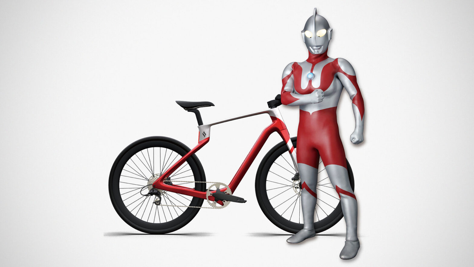Superstrata Ultraman Edition Composite Bike