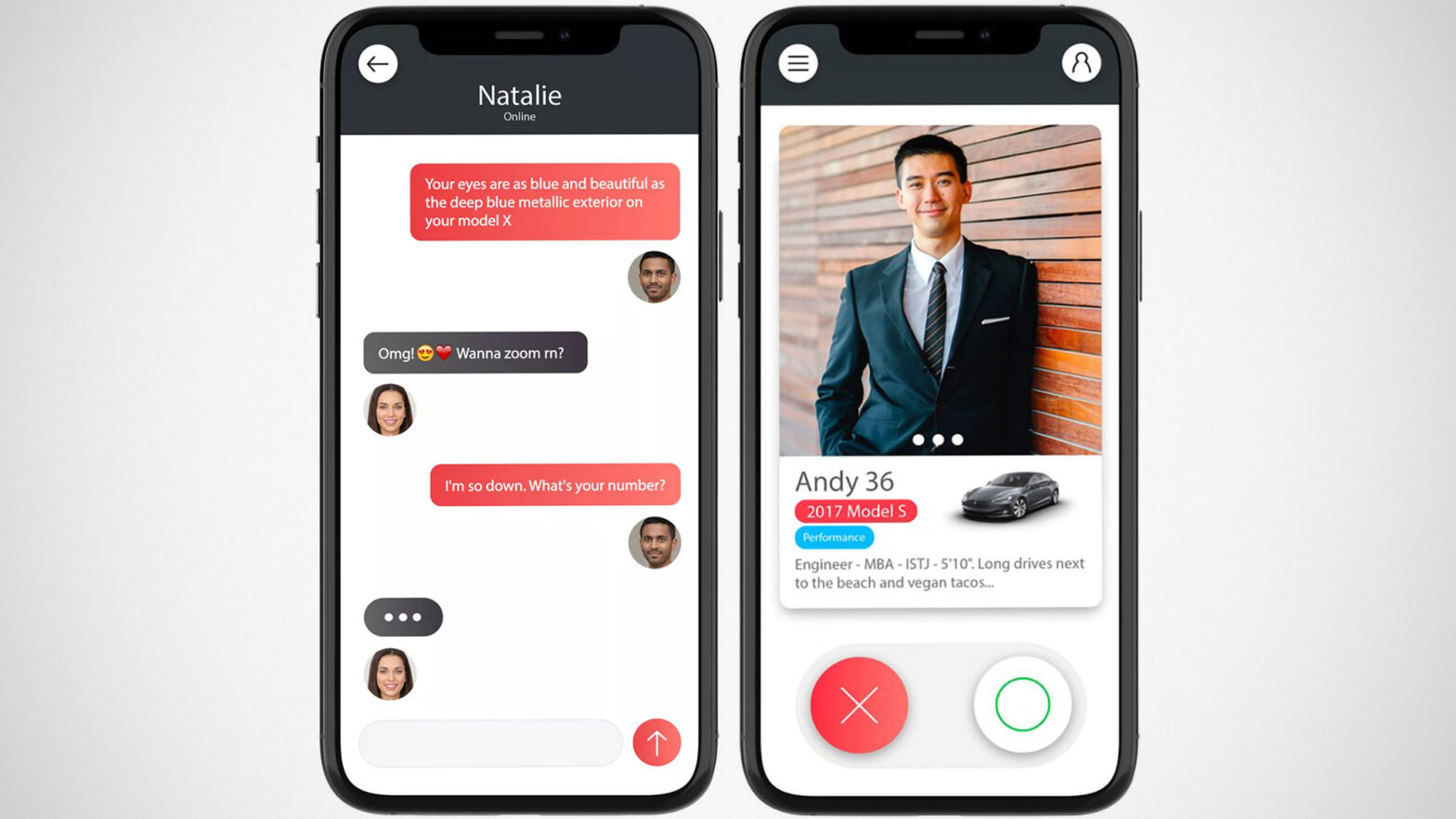 Tesla Dating App by Ajitpal Grewal
