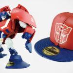 This Is <em>Transformers</em> Captimus Prime, A Transforming Baseball Cap