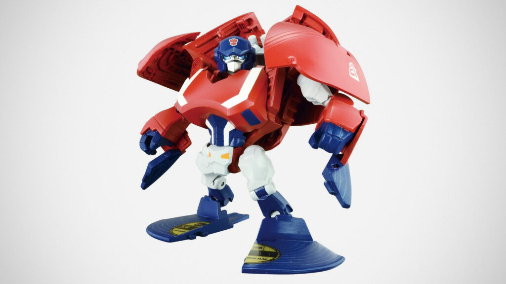 Transformers Capbots Captimus Prime Action Figure