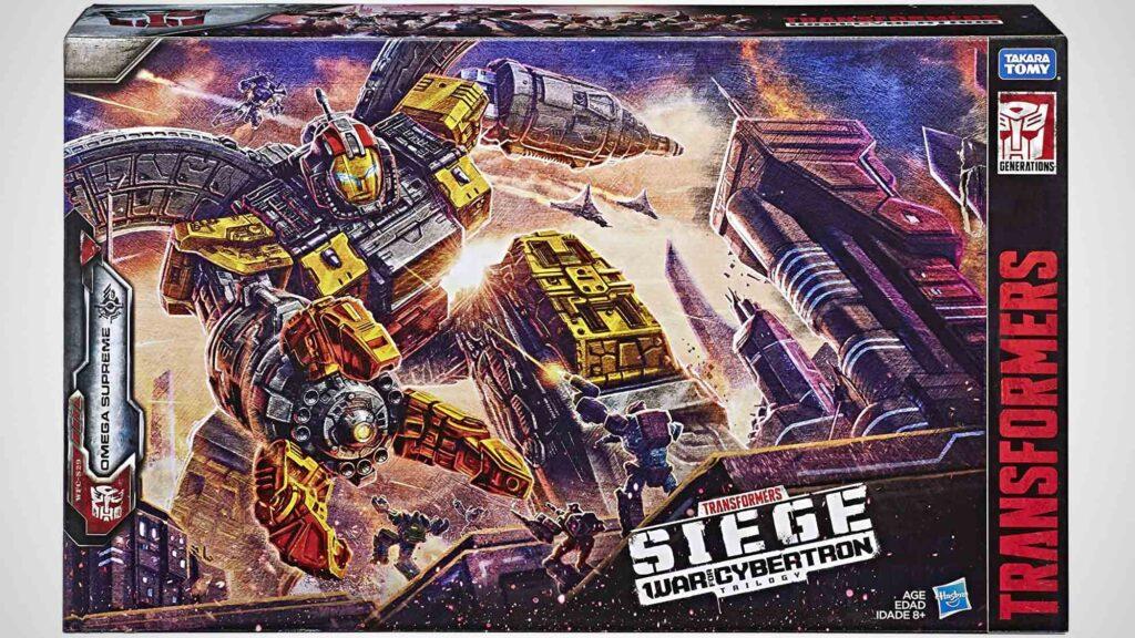 Transformers Generations WFC Titan Omega Supreme