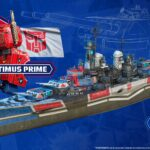 Hasbro's <em>Transformers</em> Joins In The Naval Battle In <em>World Of Warships</em>