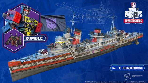 Transformers Joins the Battle in World of Warships
