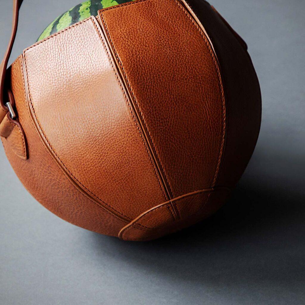 Tsuchiya Kaban Watermelon Bag by Yusuke Kadoi