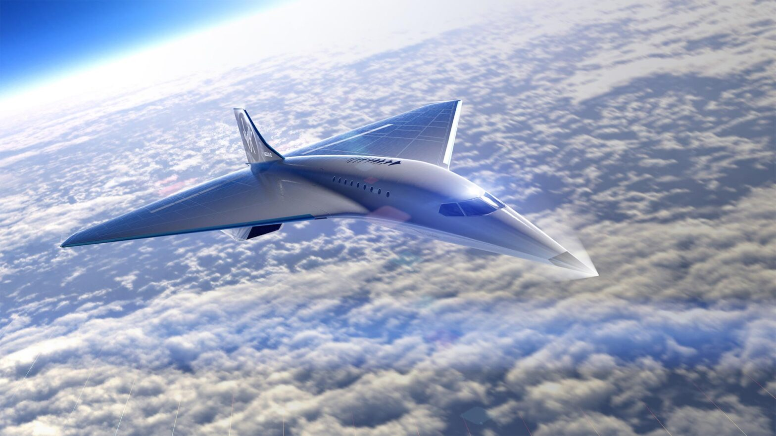 Virgin Galactic Mach 3 Supersonic Aircraft