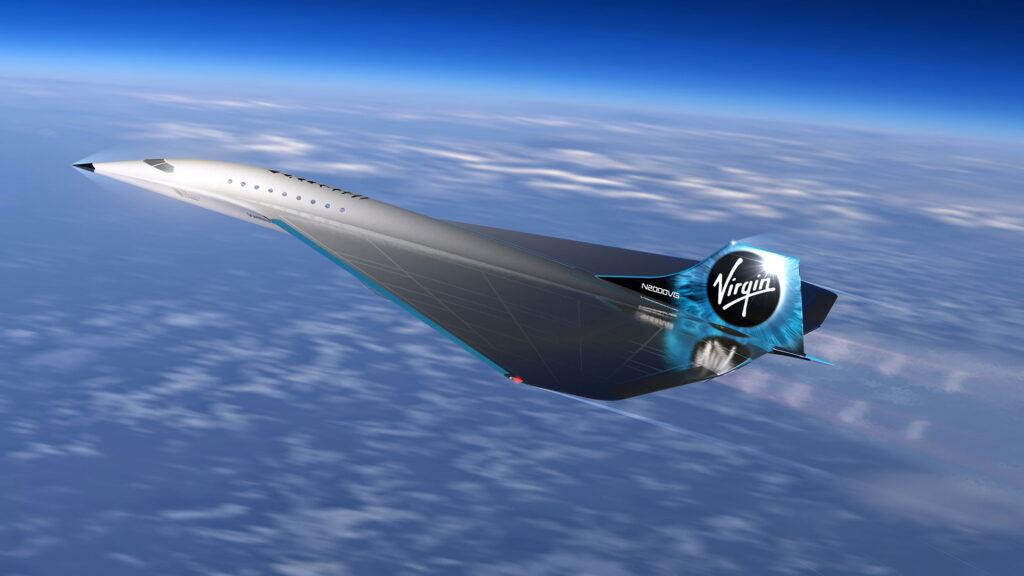 Virgin Galactic Mach 3 Supersonic Aircraft