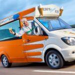 Meet Edd China's Ice Cream Van, The World's Fastest Electric Ice Cream Van
