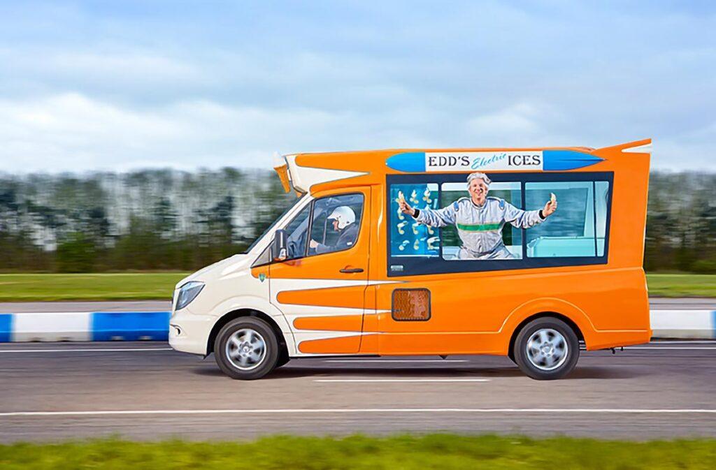 World's Fastest All Electric Ice Cream Van