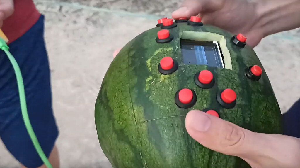 World's First Watermelon Game Boy