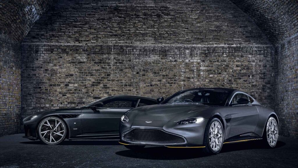 007 Edition Sports Cars by Q By Aston Martin