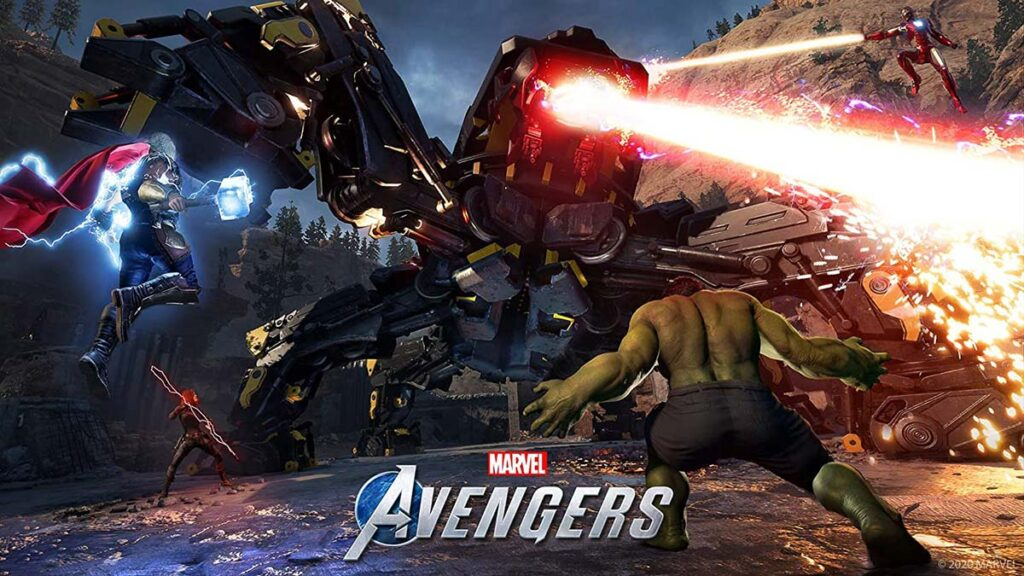 2020 Marvel's Avengers Video Game Available Now