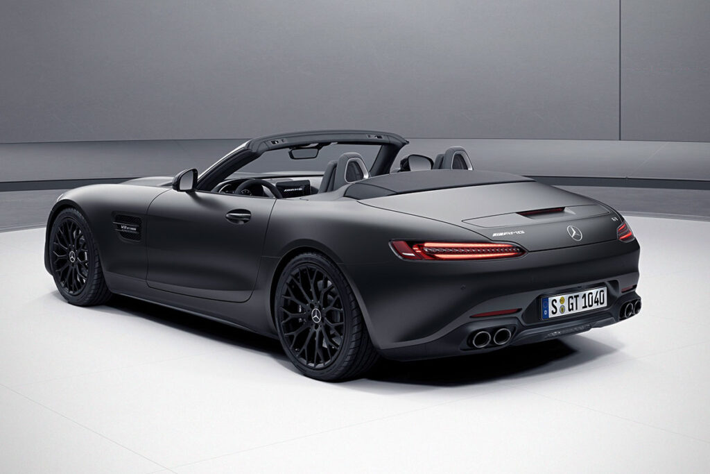 2021 Mercedes-AMG GT Stealth Edition Coupe