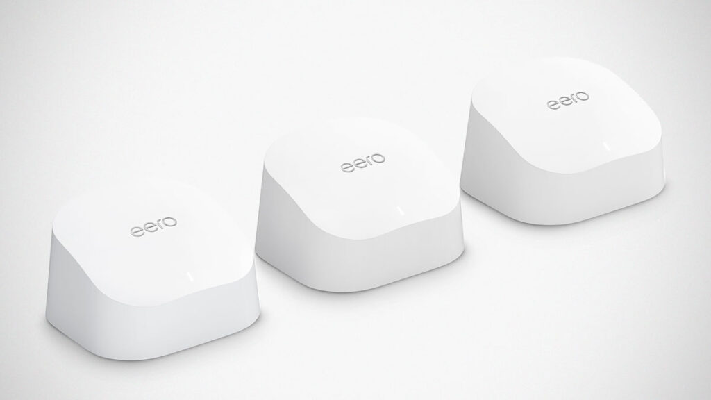 Amazon eero 6 Mesh Wi-Fi 6 Router
