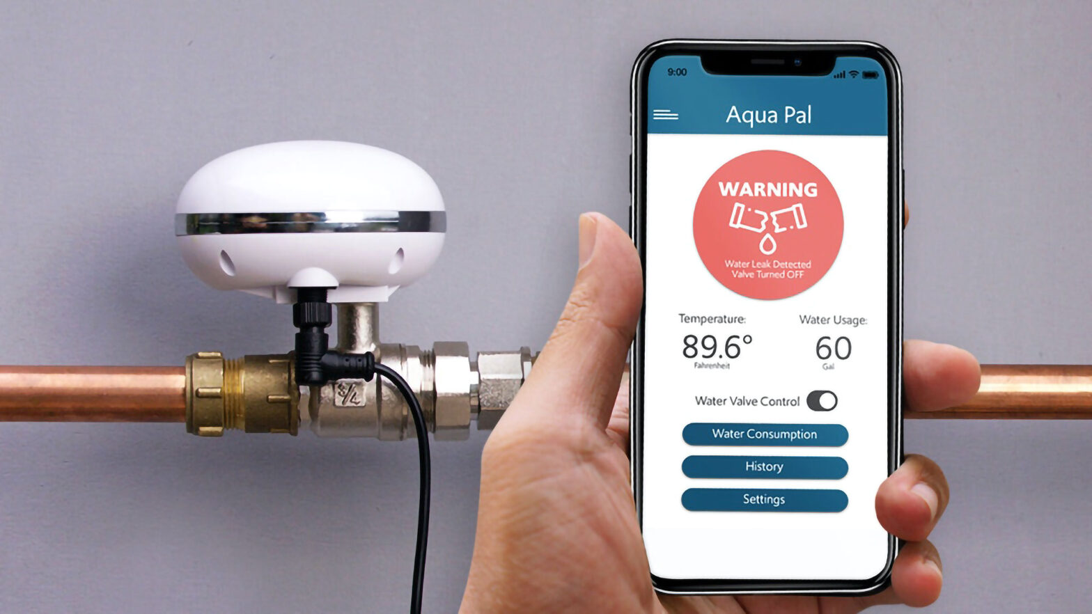 AquaPal Smart Water Monitoring and Control