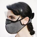 This Face Mask Has A Magnetic Eye Shield, Is An Alternative To Face Shield And A Mask