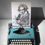 Meet James Cook. He Is A Typewriter Artist Who Creates Stunning Artwork Using Typewriters
