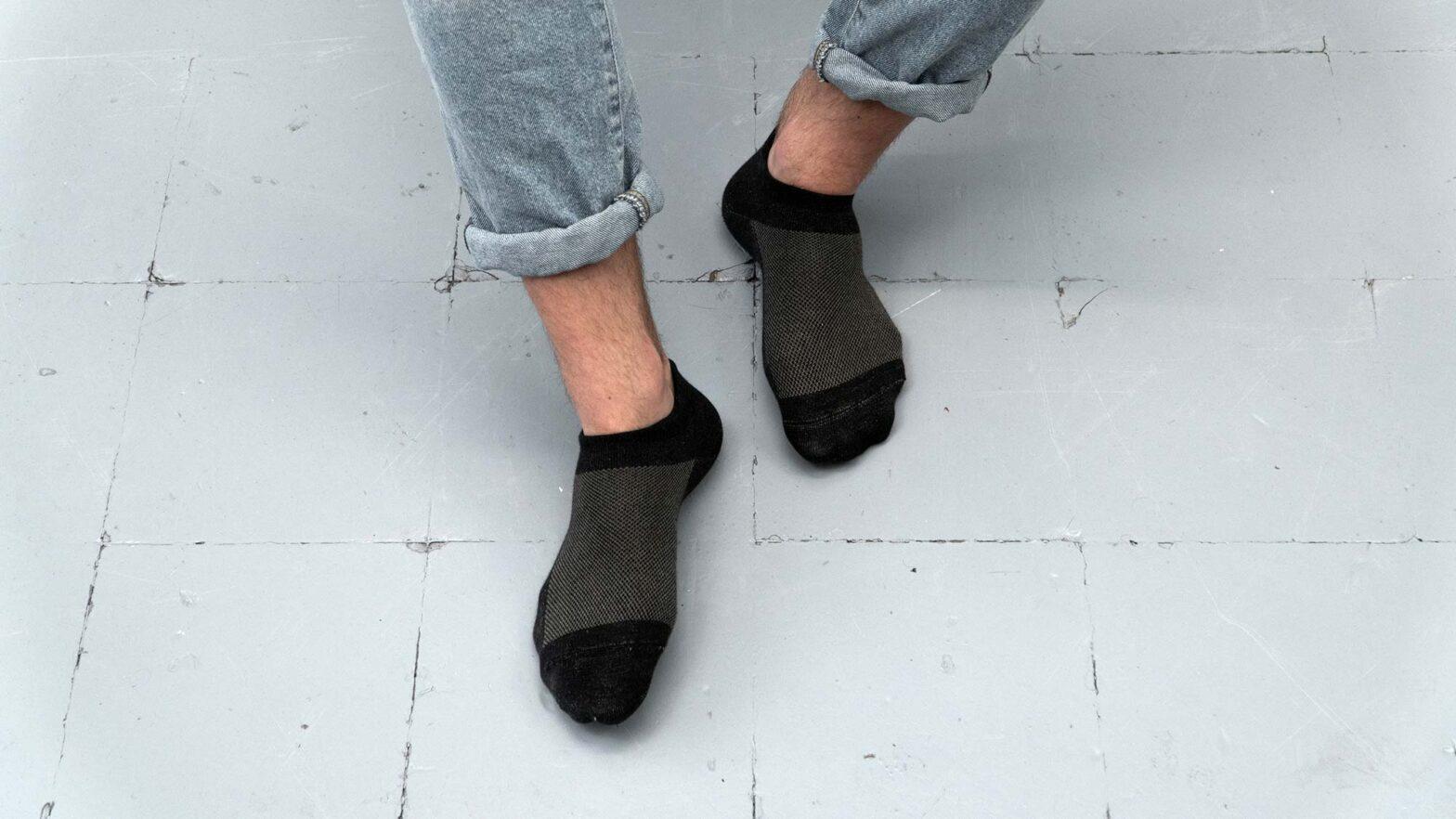 BeClothed Odor-killing Silver Ankle Socks