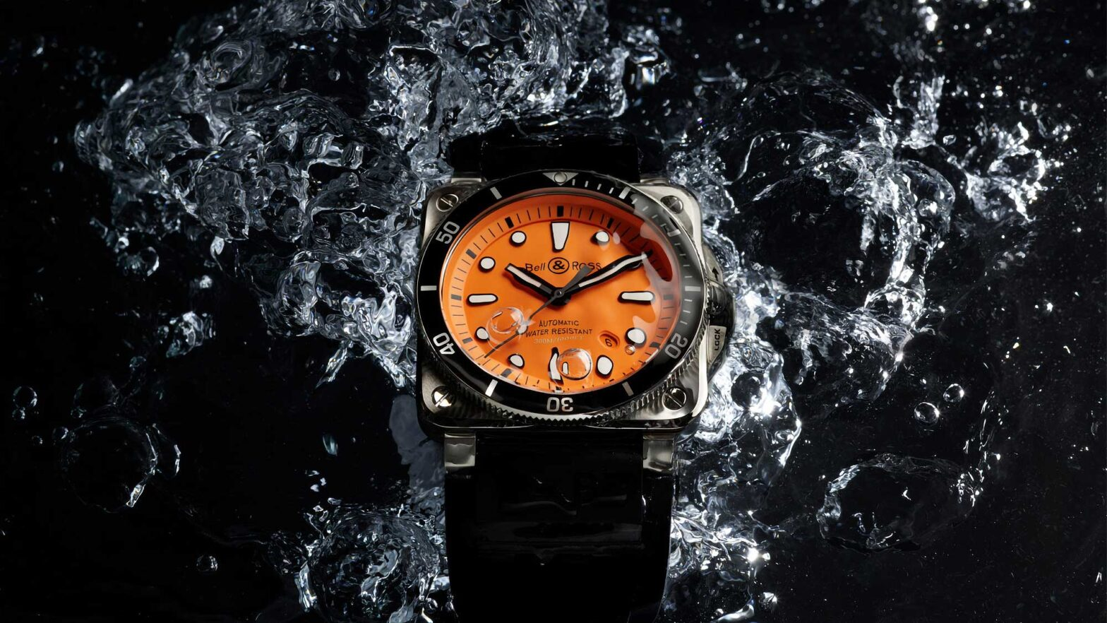 Bell & Ross BR 03-92 Diver Orange Watch