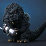 Chibi-style <em>Godzilla</em> (1984) Figure By X-Plus Gets Rebooted With Light Up Effect