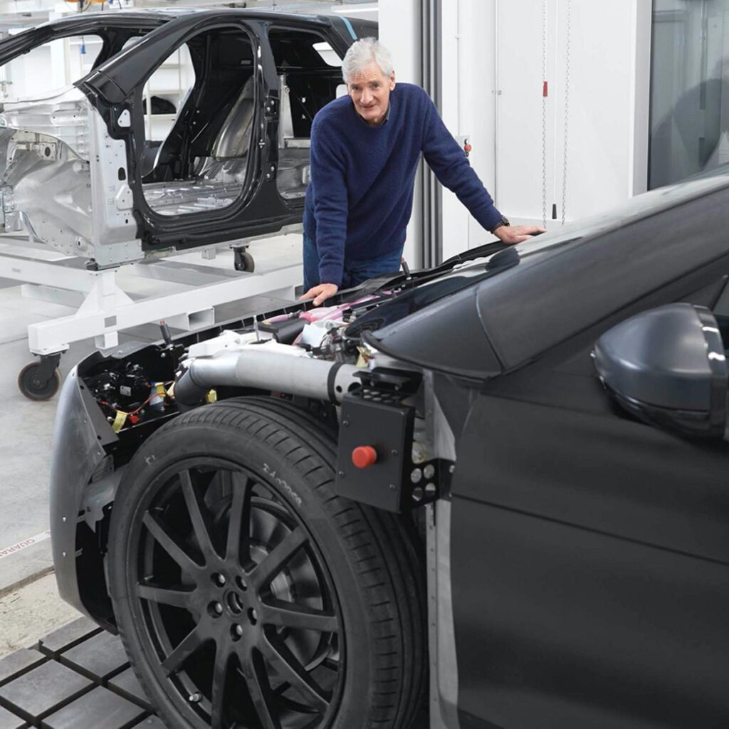 Dyson Battery Electric Vehicle Concept