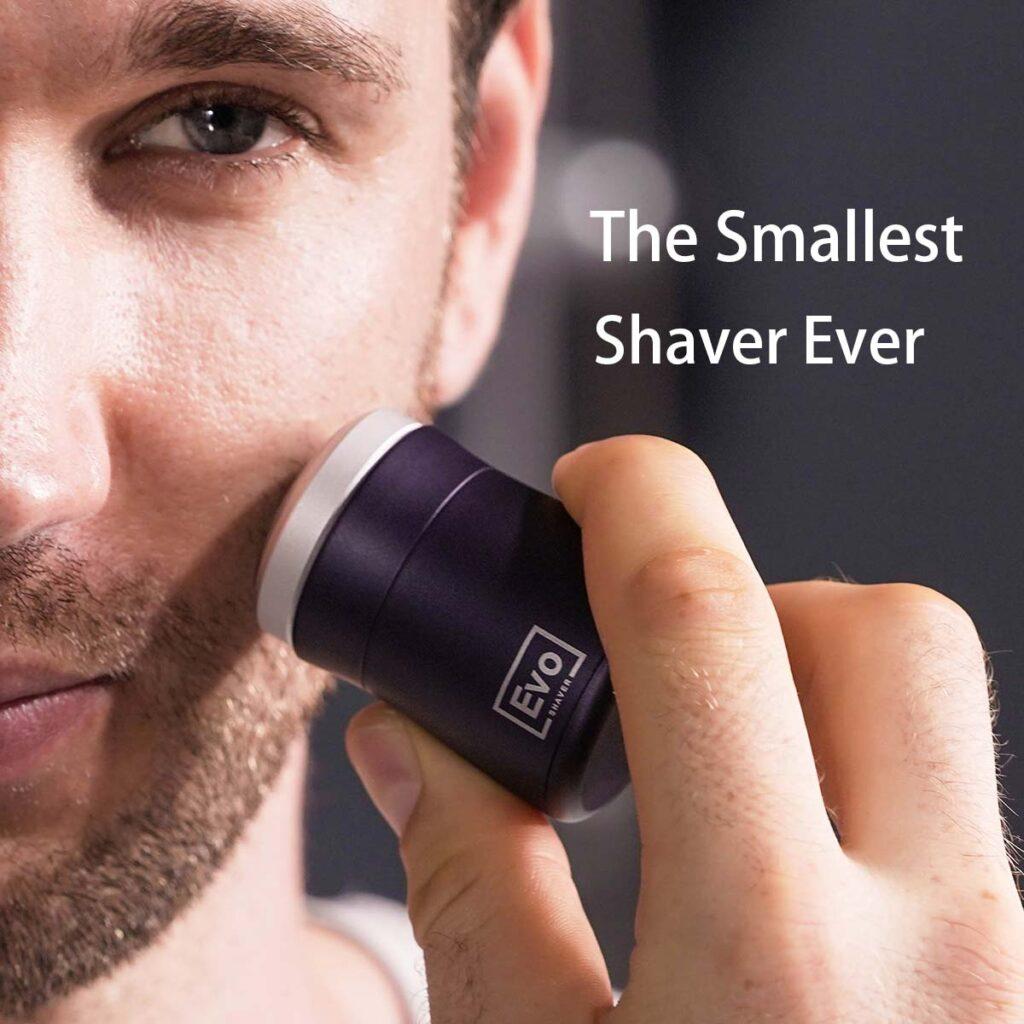 EVO Shaver The World's Smallest Travel Shaver