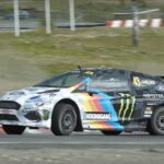 Watch Ken Block Puts The Ford Electric Rally Cross Car To Its Paces (And Slayed A Tire In The Process)