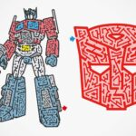 Check Out These Awesome <em>Transformers</em> Mazes By Maze Artists Meiro Yoshikawa