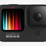 GoPro HERO9 Black Action Camera Has A Front-facing Color Display