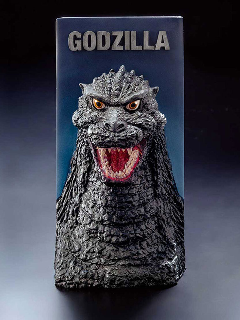 Godzilla Tissue Box Cover by Rotary Hero