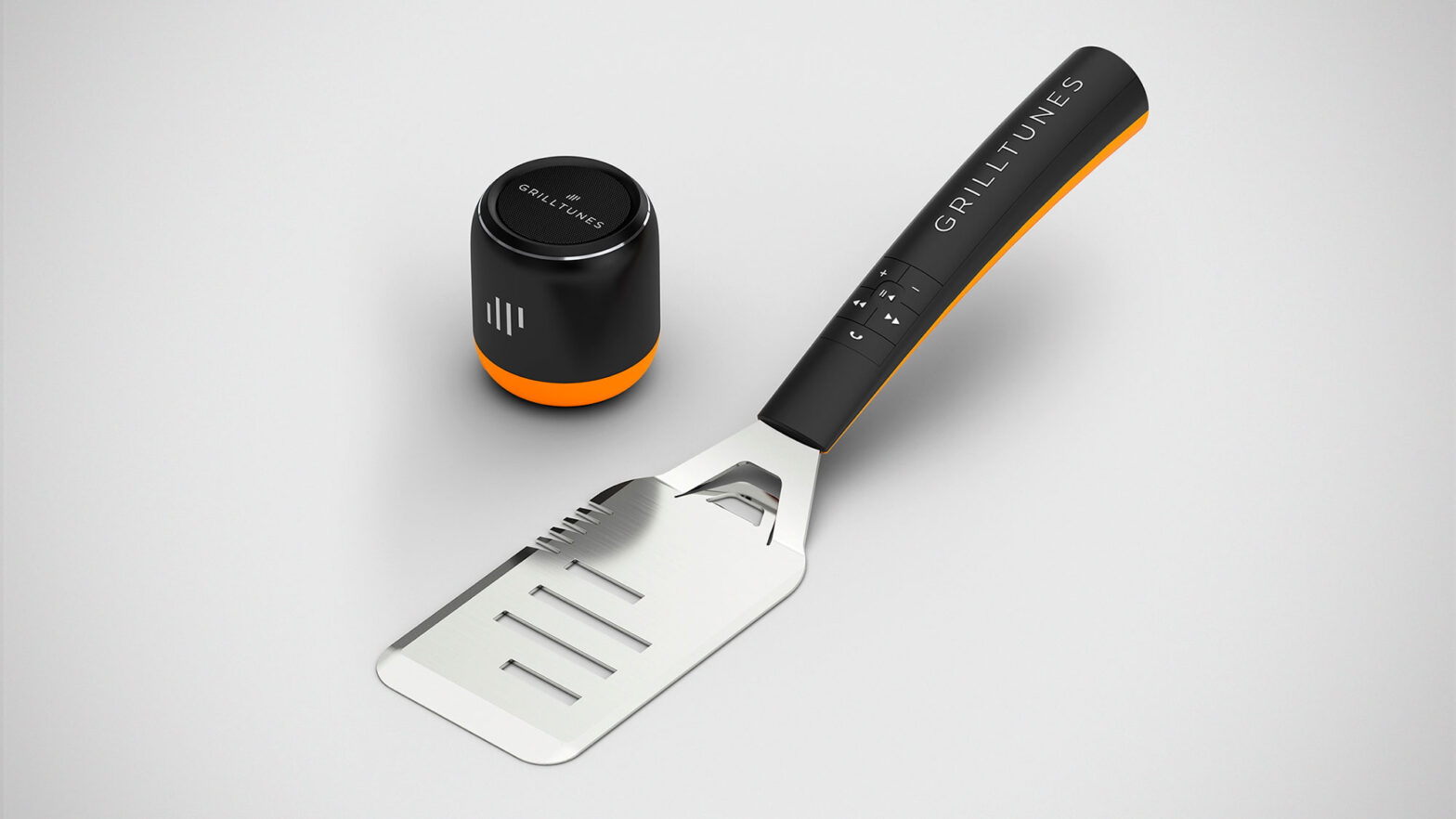 GrillTiunes Spatula with Integrated Music Control
