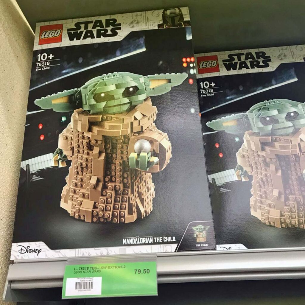 Upcoming LEGO 75318 Baby Yoda Spotted in the Wild And It ...