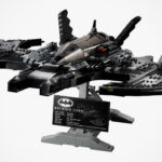 LEGO 76161 Batwing Is Gloriously Huge And Detailed, And It Is A Wall Art Too