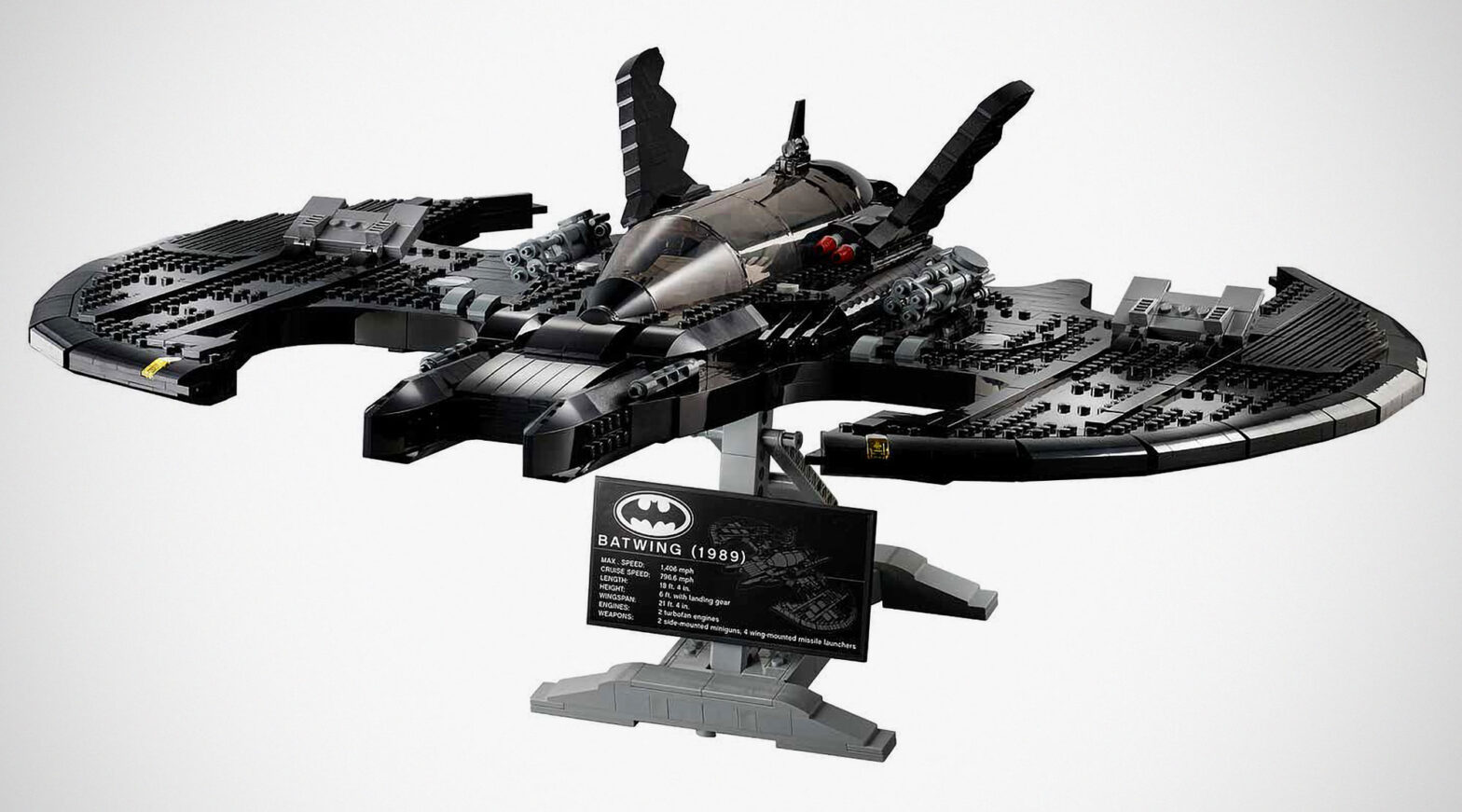 LEGO 76161 DC Batman 1989 Batwing Buildable Set