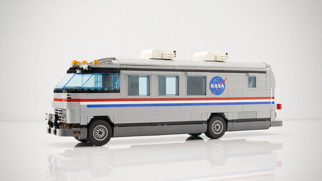 LEGO Ideas Airstream NASA Astrovan by Jeno1