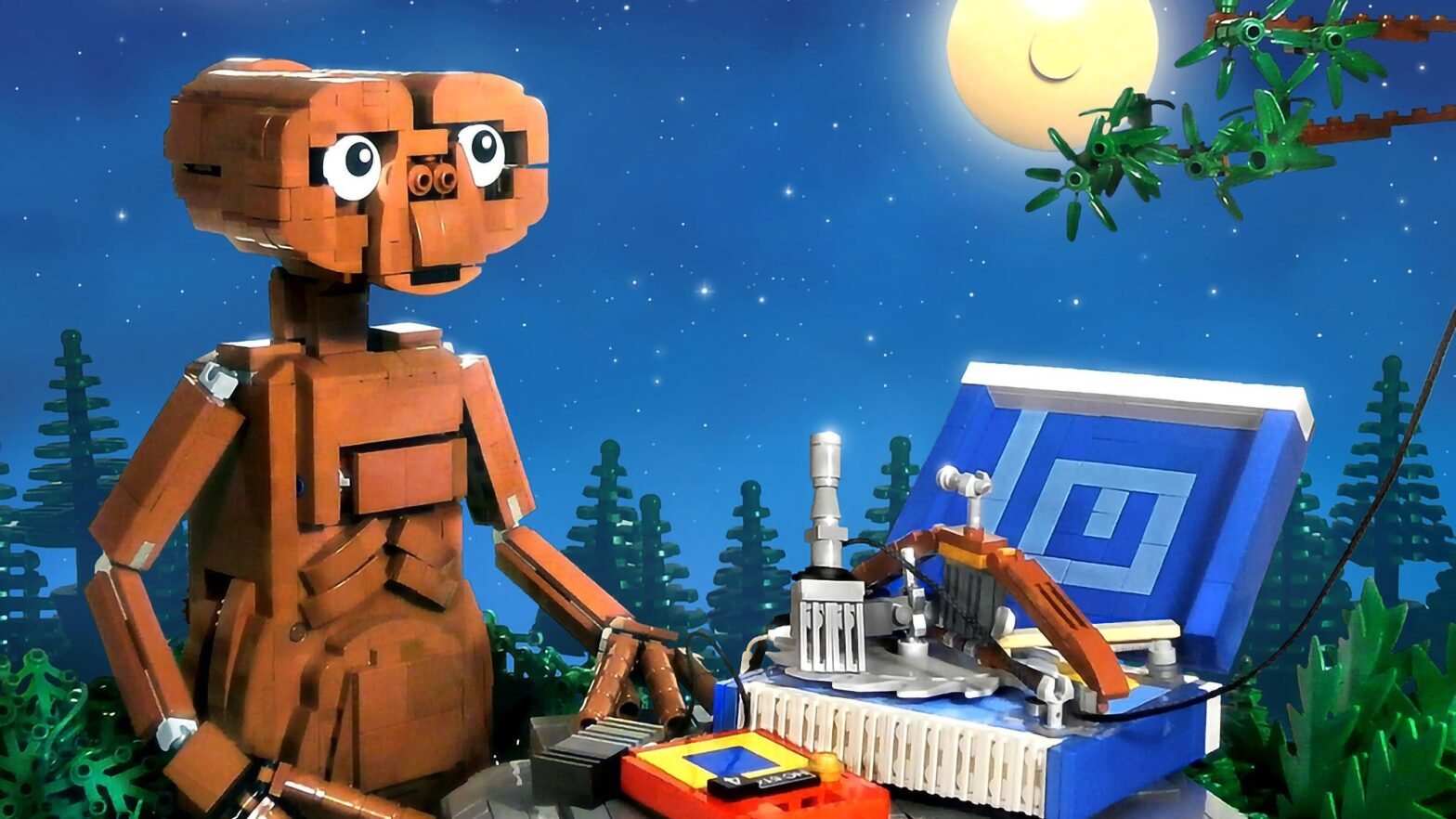 LEGO Ideas E.T. Phone Home by LegoJalex