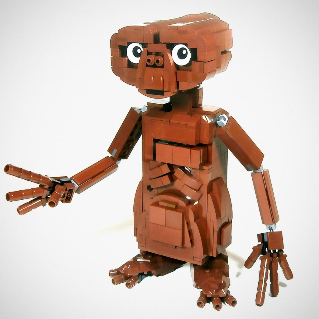 LEGO Ideas E.T. Phone Home by LegoJalex