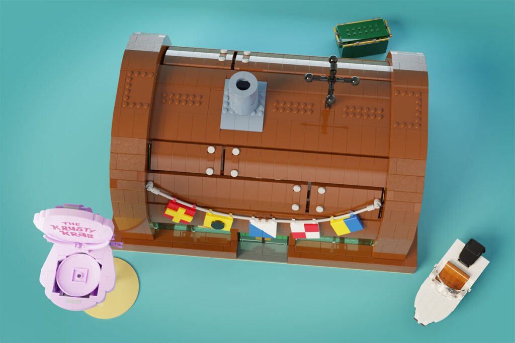 LEGO Ideas Spongebob Squarepants The Krusty Krab