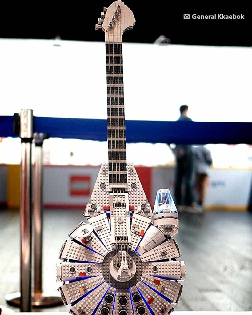 LEGO Millennium Falcon Guitar by General Kkaebok