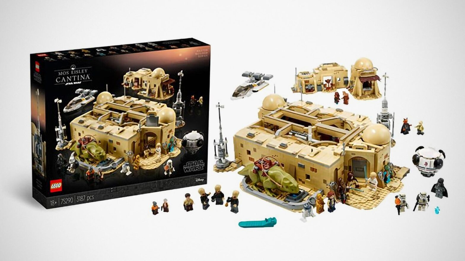 LEGO Star Wars Mos Eisley Cantina First Look