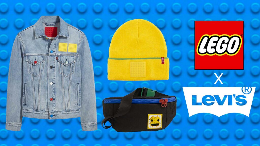 LEGO x Levi's Products Collaboration