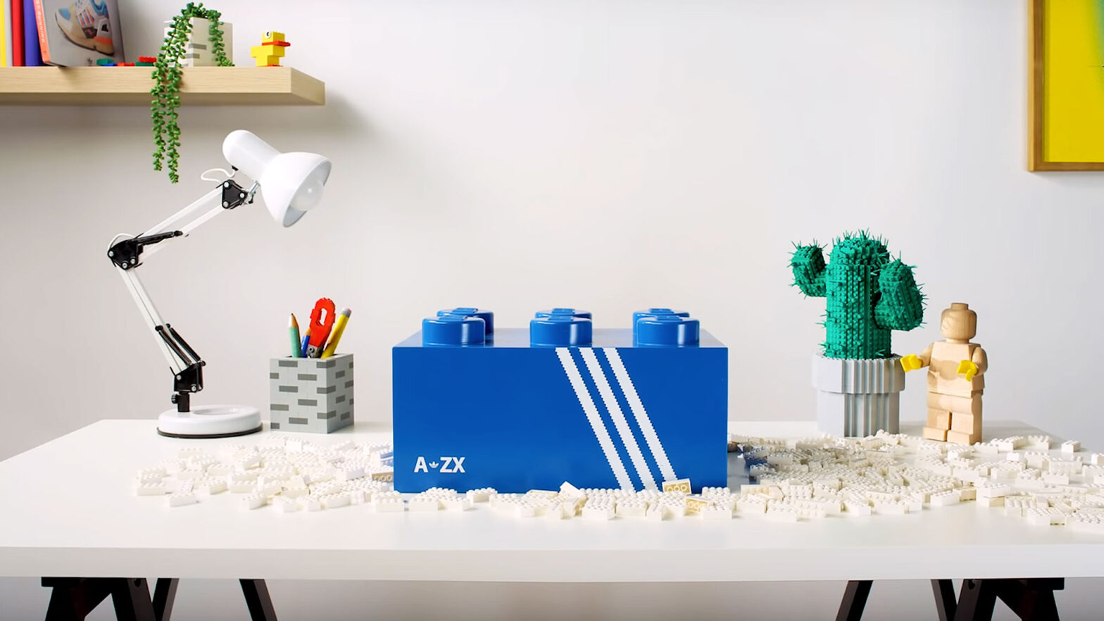 LEGO x adidas Originals ZX 8000 Sneakers