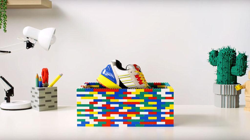 LEGO x adidas Originals ZX 8000 Sneakers