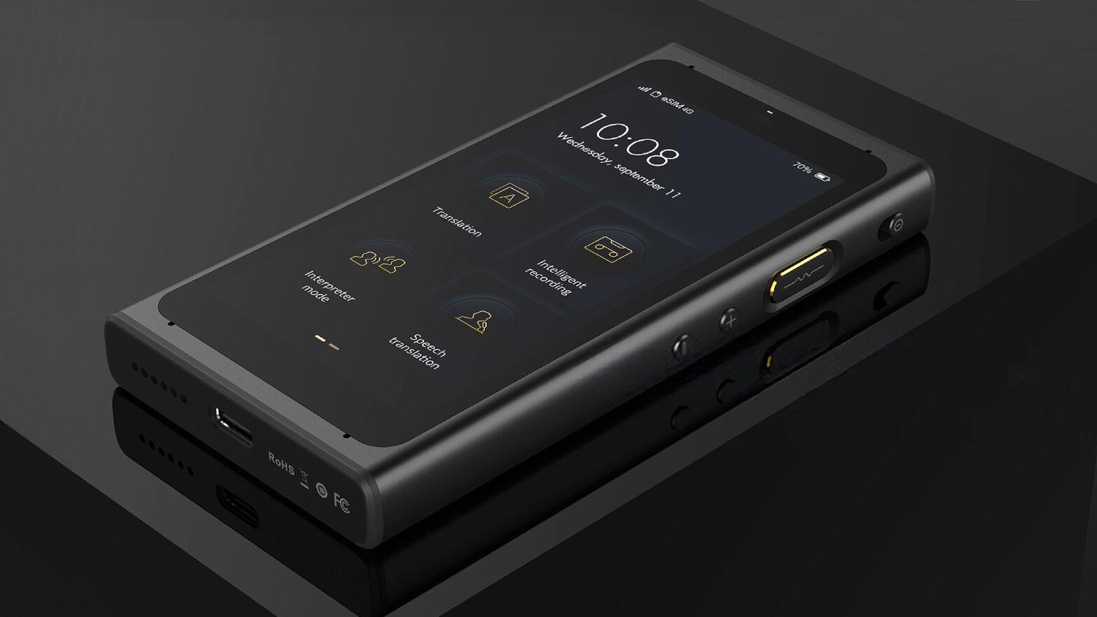 Langogo Summit Pro 4-in-1 Handheld Audio Recorder